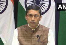 Ministry of External Affairs spokesperson Arindam Bagchi (file photo) | Twitter/@ANI