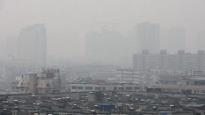 Smog conditions in Zhengzhou, China   Representational image   Flickr
