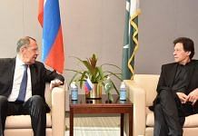 Russian Foreign Minister Sergey Lavrov with Pakistan Prime Minister Imran Khan in Islamabad on 7 April, 2021 | Twitter