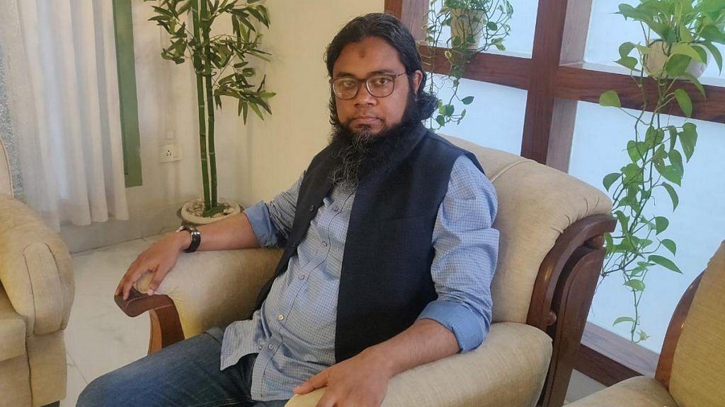 Former BJP member Hamim Ahmed from Assam | Photo: Fatima Khan | ThePrint