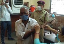 Covid-19 vaccinations being administered at Hari Nagar bus depot on day one of the Tika Utsav in New Delhi | ThePrint