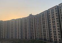 An incomplete residential housing complex in Noida, Uttar Pradesh | Photo: ThePrint