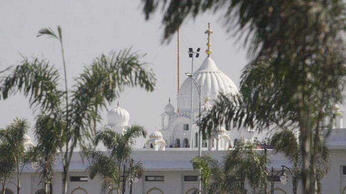 File photo of Kartarpur Sahib gurdwara | Representational image | Photo: Praveen Jain | ThePrint