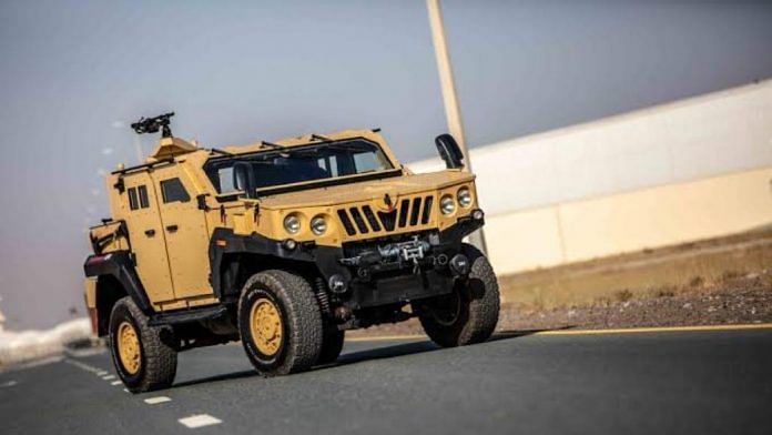The Mahindra light specialist vehicle that the Army has placed orders for | Photo by special arrangement