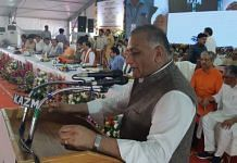 File image of Union minister and Ghaziabad MP V.K. Singh | Twitter | @Gen_VKSingh