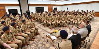 Representational image | Narendra Modi with 2018 batch of IPS officers | Twitter