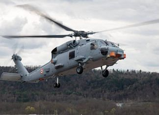 Lockheed Martin's MH-60 'Romeo' anti-submarine helicopters | Photo by special arrangement