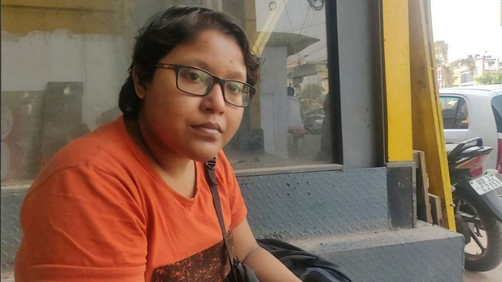 Sarah Ahmed hails from Howrah and is currently studying in Kolkata | Photo: Fatima Khan | ThePrint