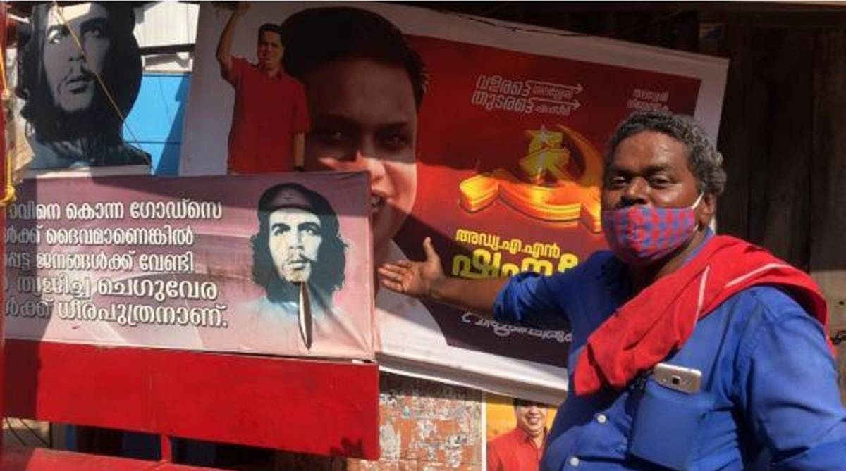 In Thalassery, a CPM stronghold in north Kerala, a CPM cadre explains who Che Guevara is   Jyoti Malhotra   ThePrint
