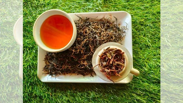Tripura's hand-rolled orthodox tea of Neermahal brand | Photo: Twitter/@SumedhaDas19
