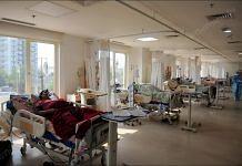 A view of ICU ward at Ramakrishna hospital, Raipur| Photo: Suraj Singh Bisht | ThePrint