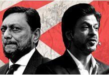 CJI SA Bobde and actor Shah Rukh Khan | ThePrint team