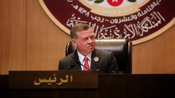 A file photo of Jordan King Abdullah II. | Photo: Twitter/@KingAbdullahII