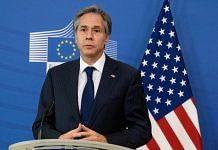 A file photo of Antony Blinken, US Secretary of State, speaks during a news conference in Brussels, Belgium, on 24 March 2021 | Photo: Bloomberg