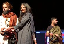 A fashion show in Srinagar. Organizers said the event will offer career opportunities to youth interested in Bollywood and modelling   Photo by special arrangement