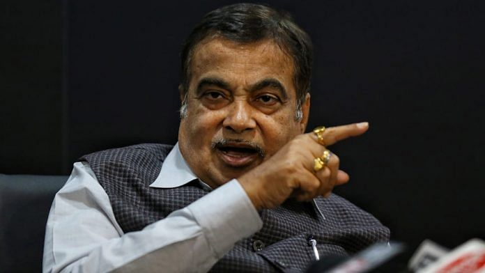 File photo of Union Minister for Road Transport & Highways Nitin Gadkari | Photo: Suraj Singh Bisht | ThePrint