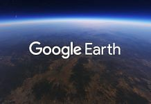 Representational image of Google Earth | YouTube