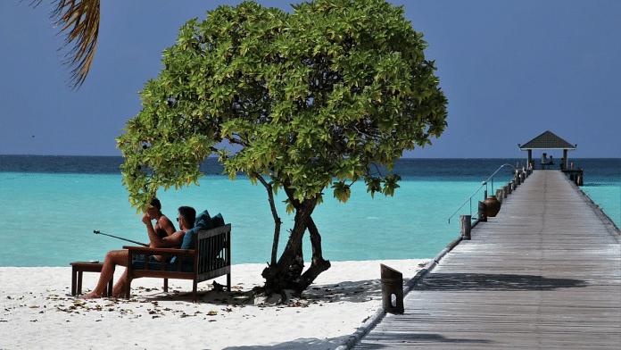 Tourists at the Maldives (Representational Image) | Pixabay