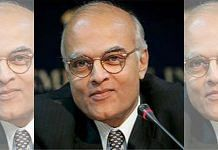 A file photo of former NSA Shivshankar Menon. | Photo: Twitter/@shivshankamenon