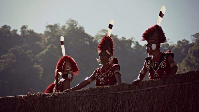 Representational image of Naga headgears.   Photo: Commons