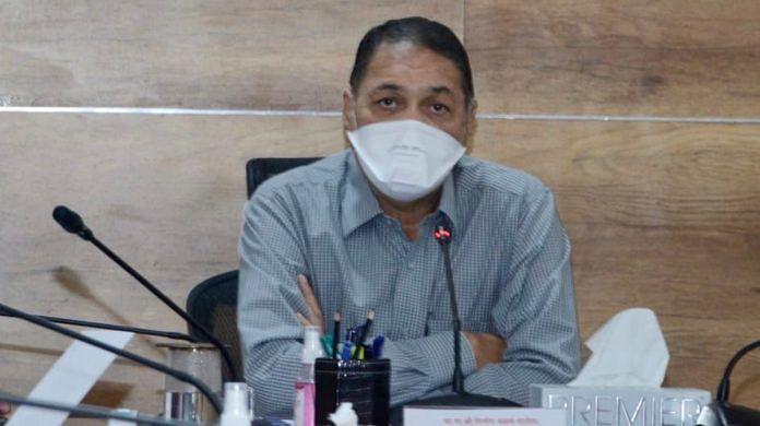 File photo of Dilip Walse Patil | Twitter/@Dwalsepatil
