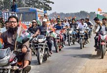 (Representational image) Trinamool Congress supporters at a party rally in Nadia district | PTI file image