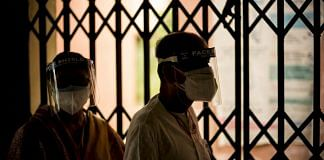 People wait for a dose of Covid-19 vaccine at the heath center in the village of Bazrak, UP   Photographer: Anindito Mukherjee   Bloomberg