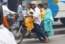 Representational image | An Indian family on a bike | Flickr