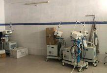 Unused ventilators at Sadar Hospital in Buxar   Photo: Jyoti Yadav   ThePrint