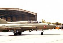 The Panthers, with CAS Bhadauria on board, flew a 'missing man formation' in a MiG-21 Bison | Twitter/IAF_MCC