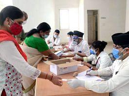 Inoculation drive in Bhopal, Madhya Pradesh