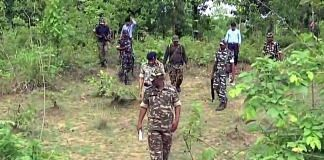 Representational image of police personnel in Chhattisgarh forests   Photo: ANI