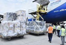 A shipment from Ireland carrying 2 oxygen generators, 548 oxygen concentrators, 365 ventilators & other medical equipment arrives in New Delhi on 4 May 2021 | MEA | Twitter