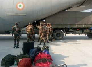 Armed forces doctors arrive in Lucknow Monday | Twitter/@suryacommand