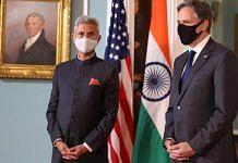 External Affairs Minister S. Jaishankar with US Secretary of State Antony Blinken | Photo: Twitter/@DrSJaishankar