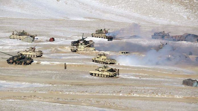 File photo of Indian and Chinese troops disengaging from the banks of the Pangong lake area in eastern Ladakh   ANI