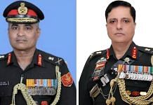 Lt Gen. Manoj Pande (left) and Lt Gen. Ajai Singh | Photo by special arrangement