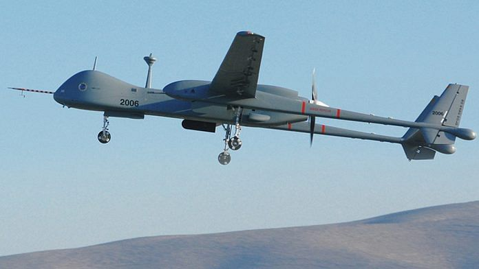 The Heron TP drone is manufactured by Israel Aerospace Industries | Photo: iai.co.il