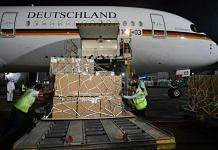India received 120 ventilators from Germany along with oxygen concentrators Saturday | Twitter/@MEAIndia