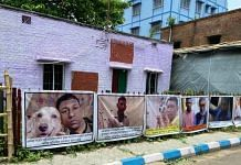 Home of Abhijit Sarkar, a 35-year-old BJP worker and an idol maker in North Kolkata, who was killed on 2 May | Photo: Madhuparna Das/ThePrint