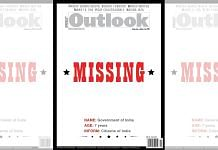 Outlook India's cover for its May edition | Twitter/@kazhugan