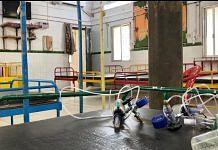 The empty Covid ward at the Majhgawan government hospital | Photo: Nirmal Poddar/ThePrint
