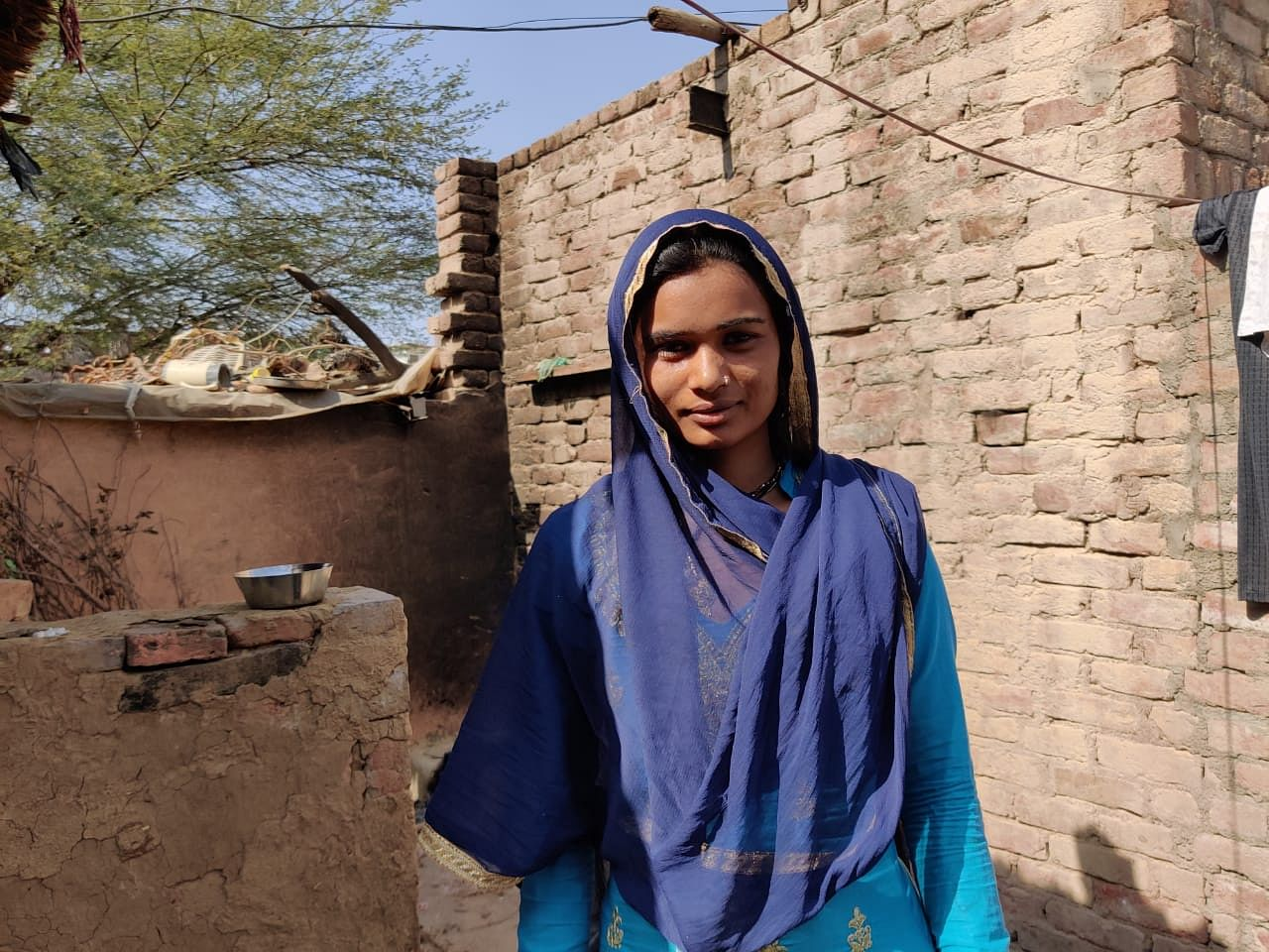 Jaswanti, who works at the MNREGA site, got tested recently and is now eager to get the Covid shot   Reeti Agarwal   ThePrint