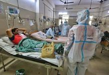 Young patients admitted to the ICU ward at the Sarojini Naidu Medical College and Hospital in Agra. | Photo: Praveen Jain/ThePrint