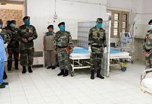 A file photo of a Covid ward set up at an Army hospital, in Prayagraj. | Photo: ANI