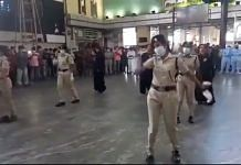 Chennail railway police personnel performing to 'Enjoy Enjaami' | Twitter