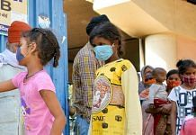 Children in masks at a centre distributing masks and hand sanitizer in New Delhi   Representational image   ANI Photo