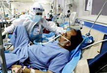 A patient being treated for Covid in a hospital | Image for representation | ANI