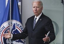 US President Joe Biden speaks while visiting the Federal Emergency Management Agency (FEMA) headquarters in Washington, DC, on 24 May 2021 | Photographer: Oliver Contreras/Sipa/Bloomberg