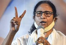 TMC supremo and West Bengal CM Mamata Banerjee during an interaction with the media in Kolkata, on 2 May 2021 | PTI